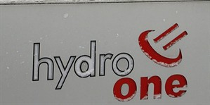 Signage for a Hydro One Toronto transformer station is shown on Jan. 30, 2007. THE CANADIAN PRESS/AP, Nathan Denette