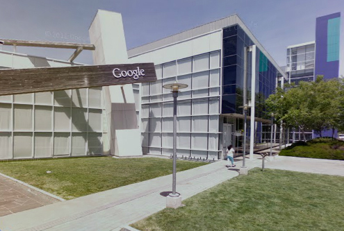 Google 39 s head office in mountainview calif - Google head office photos ...