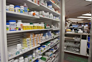 Newly released documents show Health Canada has expressed concerned drug makers could not always be trusted to voluntarily report medication shortages. A shelf of drugs is seen at a pharmacy Thursday, March 8, 2012 in Quebec City. THE CANADIAN PRESS/Jacques Boissinot