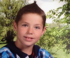 Dawson Pentecost, 9, is shown in a family handout photo. A Manitoba minor hockey team has decided it will finish its season to honour three young players killed in a plane crash.The boys — nine-year-old Dawson Pentecost, nine-year-old Logan Spence and his 10-year-old brother Gage Spence — were killed Sunday when the small plane went down outside their homes in the small community of Waskada.THE CANADIAN PRESS/HO