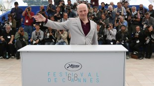 Director Jacques Audiard poses for photographers during a photo call for the film Dheepan, at the 68th international film festival, Cannes, southern France, Thursday, May 21, 2015. (Photo by Vianney Le Caer/Invision/AP)