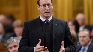 Peter MacKay's reported decision to leave politics is being described by pundits and critics in Atlantic Canada as a serious blow for the Harper government and a final, symbolic farewell to the last vestige of the former Progressive Conservative party. MacKay is shown responding to a question during question period in the House of Commons in Ottawa on Thursday, February 5, 2015. THE CANADIAN PRESS/Sean Kilpatrick