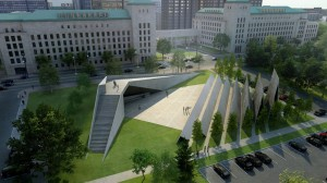 The design for the Memorial to the Victims of Communism.