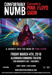 comfortably numb poster