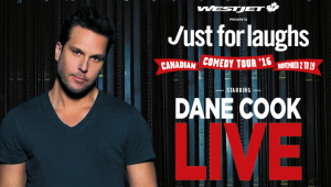 Dane Cook LIVE! @ The Arena at TD Place | Ottawa | Ontario | Canada
