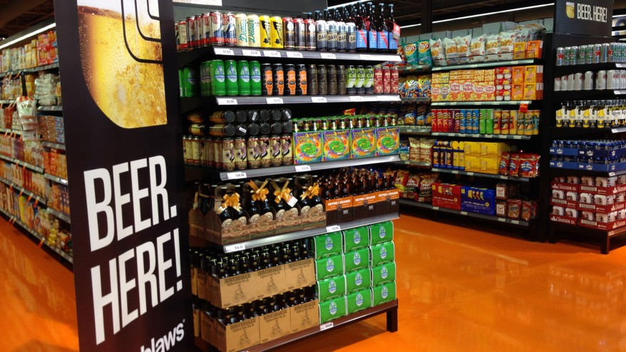 Beer, cider coming to nine more grocery stores - 1310 NEWS