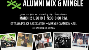 Join Us for the Second Annual Alumni Mix & Mingle @ Meryle Cameron Hall