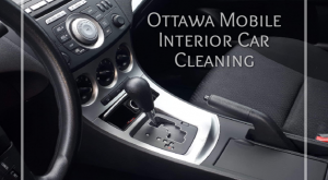 Ottawa Mobile Interior Car Cleaning